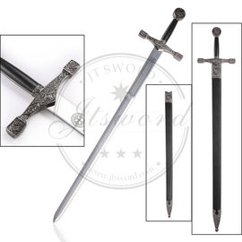 "China 48"" King Arthur Medieval Longsword , Excalibur Deluxe Sword With Scabbard supplier"