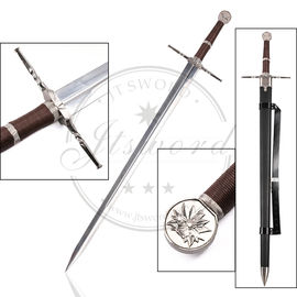 "China 48.4"" Video Game Replica Swords Witcher III Decorative Steel Sword Of Geralt supplier"
