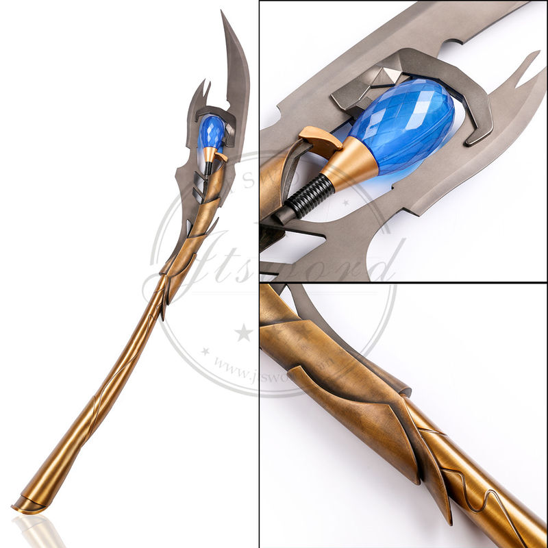 The Avengers 4 1//1 Scale Loki/'s Chitauri Scepter Metal Model Props Toy Pre-order