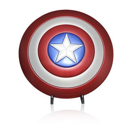 China Full Aluminum Alloy Marvel Props , Avengers Captain America Shield Metal factory