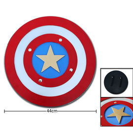 PU Foam Captain America Shield 17.3'' Red And Blue Color Vibrant Designs