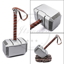 Full Scale Avengers Thor Battle Hammer Powerful Weapon For Cosplay / Gift