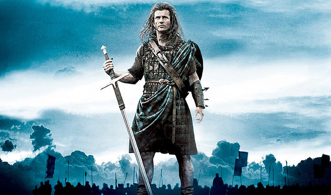 Collectible Braveheart Moviesword , William Wallace Scottish Claymore Sword